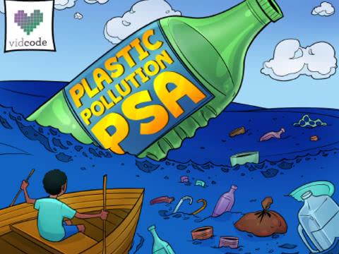 זיהום פלסטיק - הודעת שירות לציבור