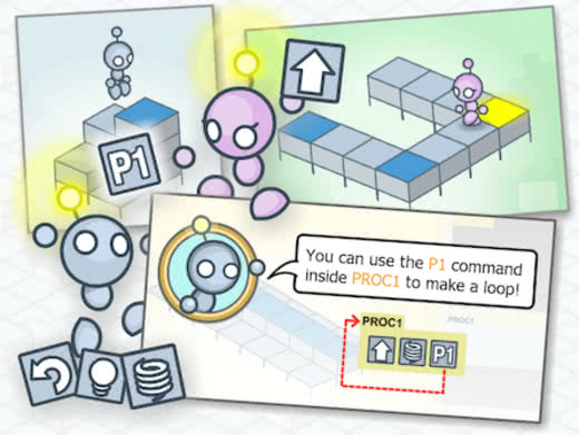 Click here to start the Lightbot Hour of Code!