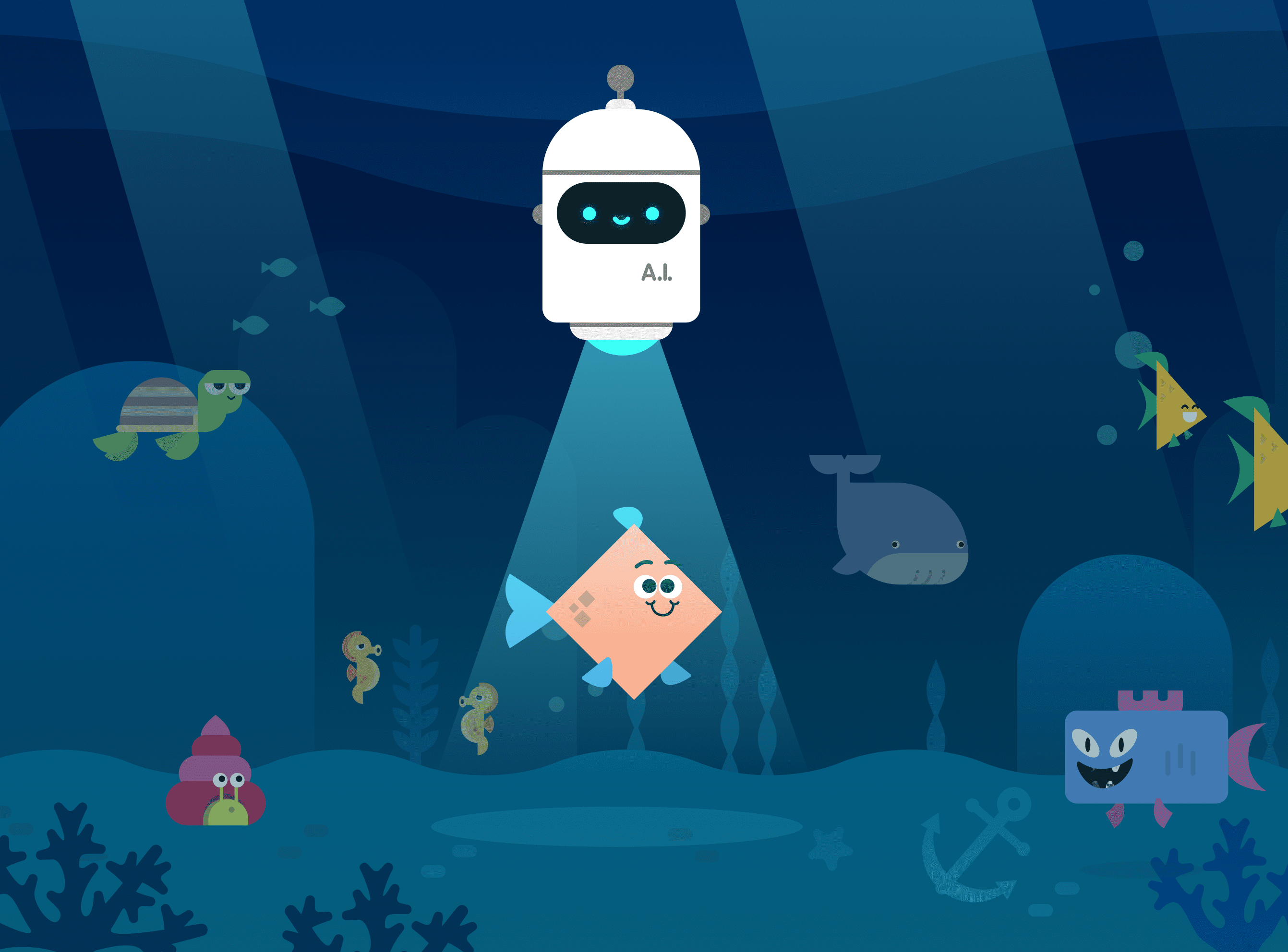 AI for Oceans   Code.org